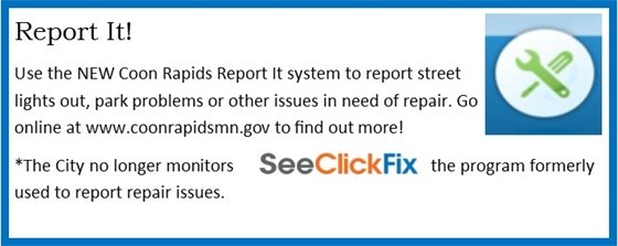 Report It Program to Submit Repair Issues