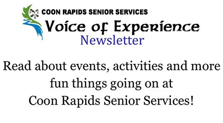 Coon Rapids Senior Center Newsletter