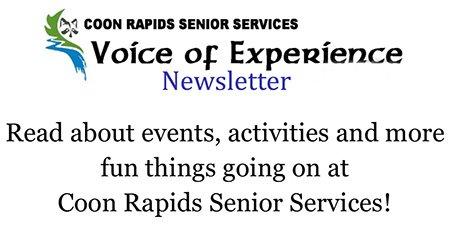 Coon Rapids Senior Center Newsletter