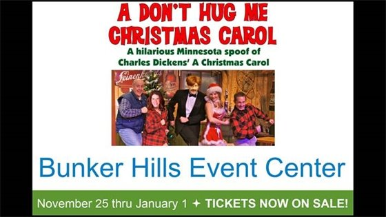 A Don't Hug Me Christmas Carol