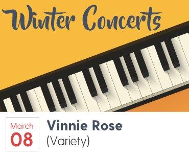 Vinnie Rose Concert