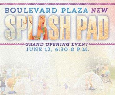 Splash Pad Grand Opening Event