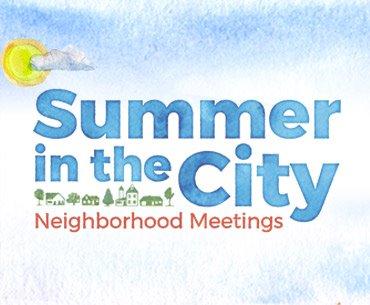 Summer in the City Meetings