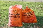 Set Simple Recycling Bags at Curb