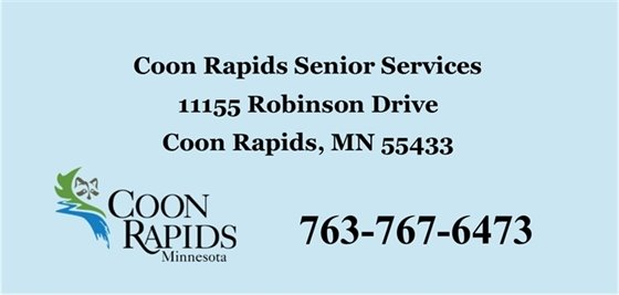 Coon Rapids Senior Services