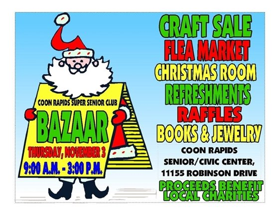 Coon Rapids Super Senior Club Bazaar