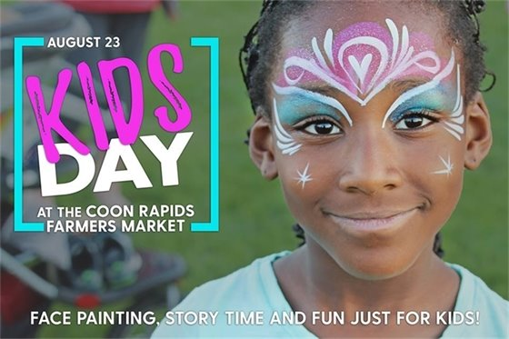 Kids Day at Coon Rapids Farmers Market