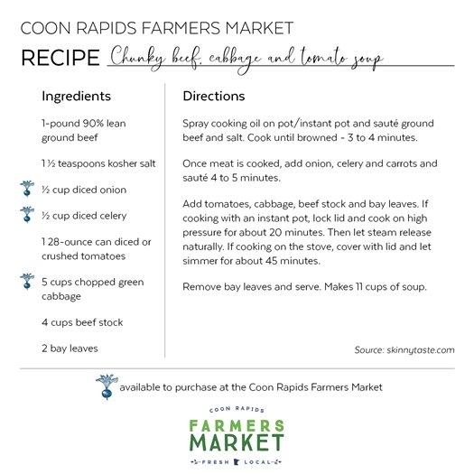 Farmers Market Recipe