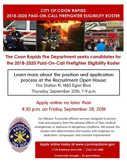 Fire fighter Open House event