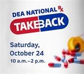 Drug Take Back Event Photo