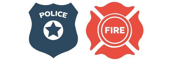 Police and Fire Departments