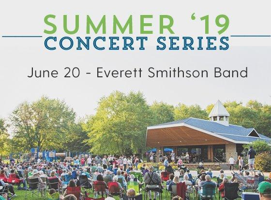 June 20 Concert Everett Smithson Band