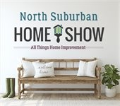 North Suburban Home Show: All Things Improvement titled above and entryway bench