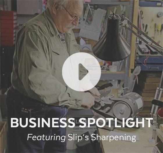 Business Spotlight: Slips Sharpening