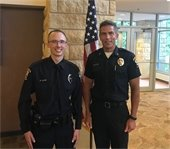 pic of ofc olson and chief