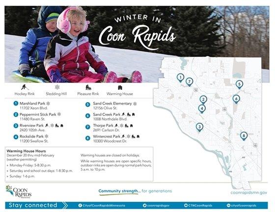 Winter in Coon Rapids