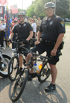 Bike officers 2015