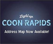 Lights with address map Newsflash