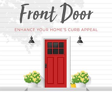 Front Door Program Enhance Your Home's Curb Appeal