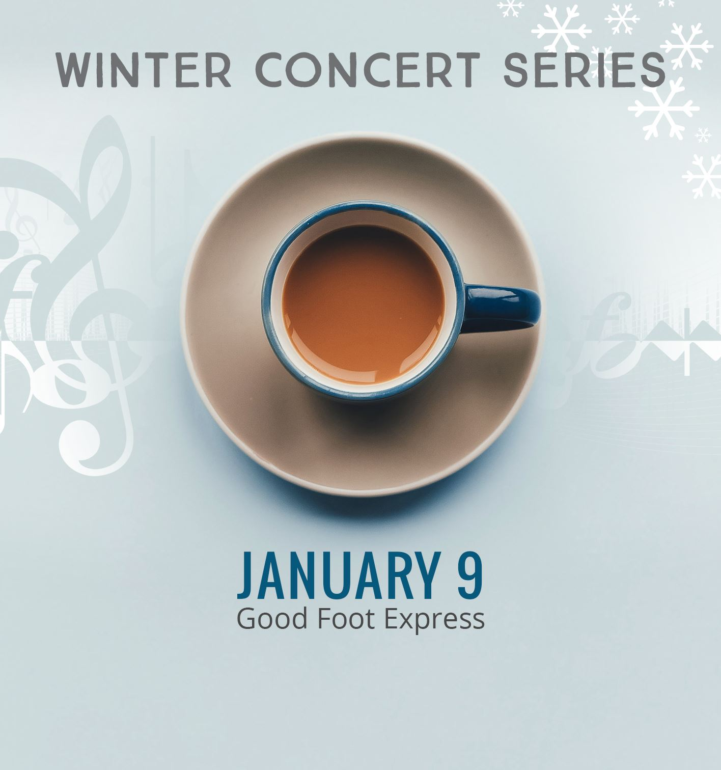 Winter Concert Series - Good Foot Express on January 9