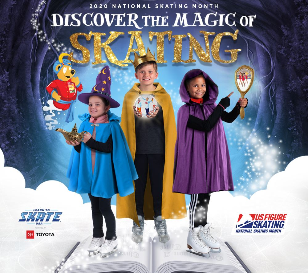 Discover the Magic Public Skating Event Graphic