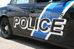 Coon Rapids police car