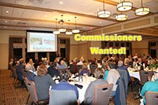 Commissioners wanted